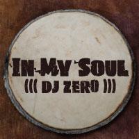 In My Soul mixed by DJ Zero written on a djembe drum